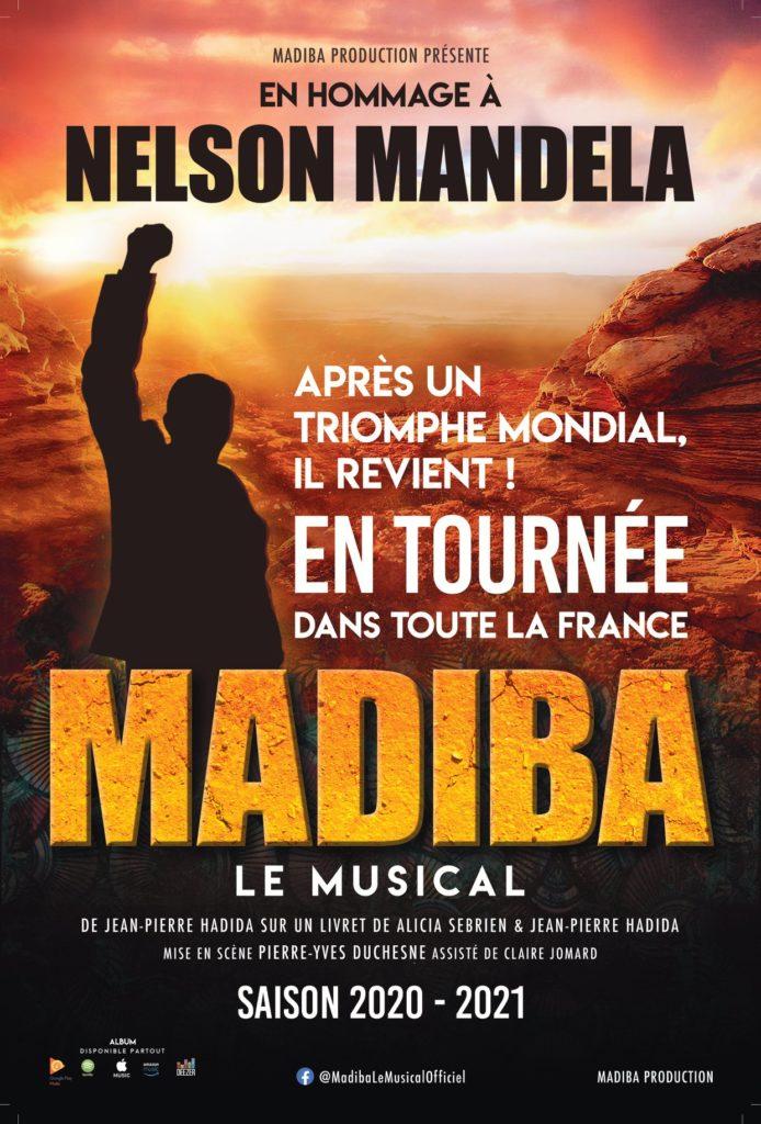 Madiba - Tournée 2020-2021 - Affiche