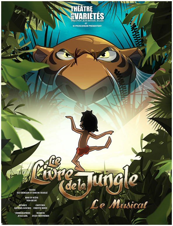 Le Livre de la Jungle le musical