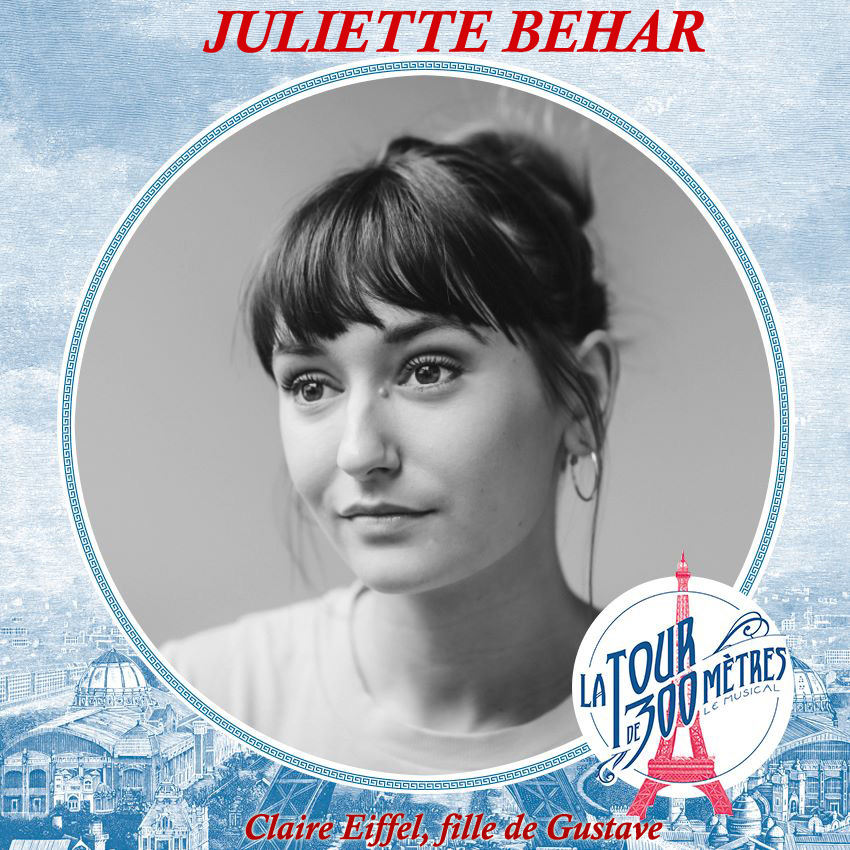 Juliette Béhar - Claire Eiffel