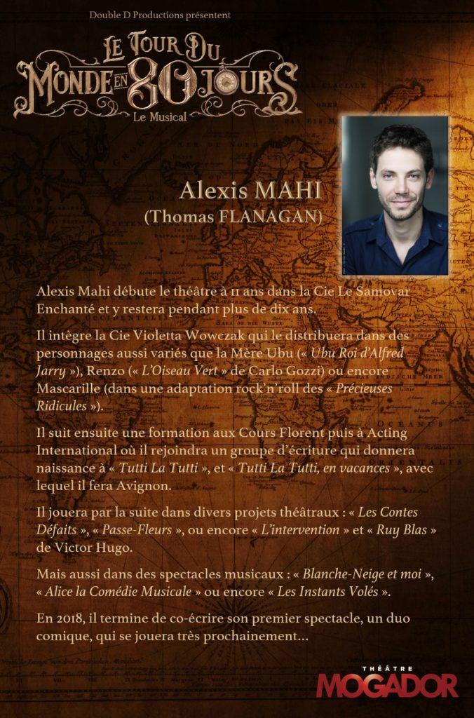 Alexis Mahi - Tour du Monde en 80 Jours