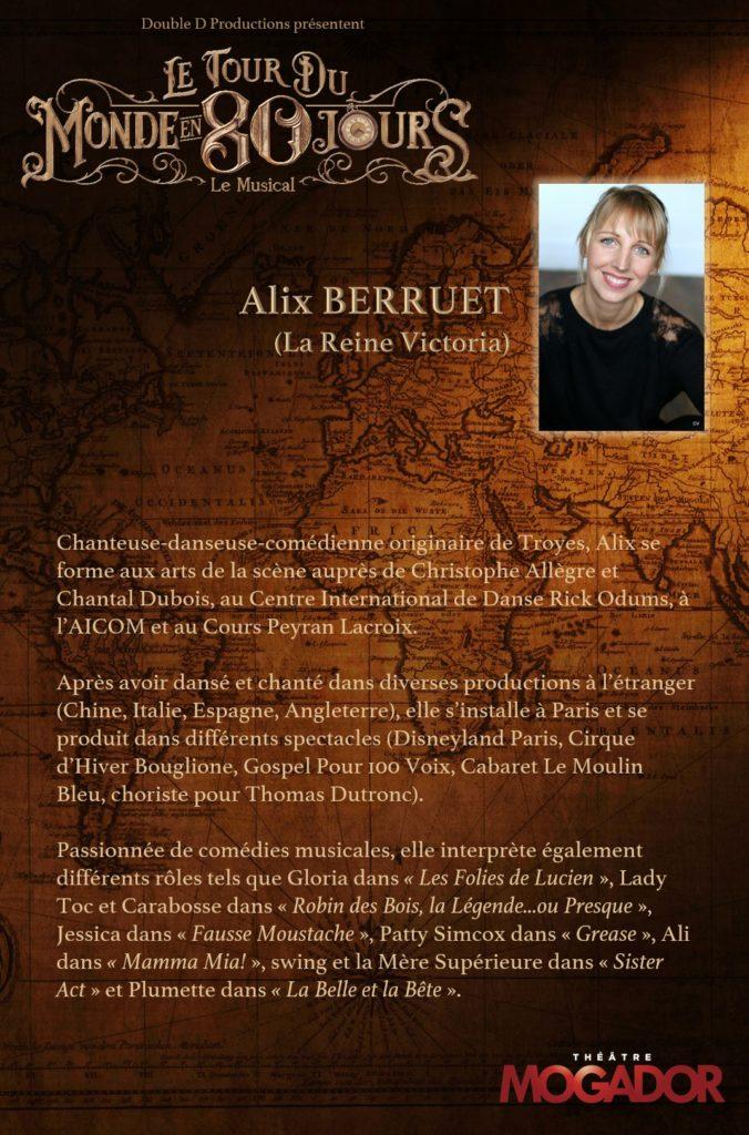 Alix Berruet - Tour du Monde en 80 Jours