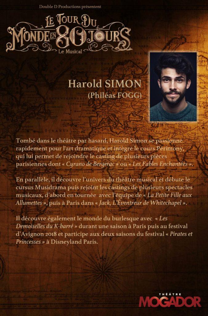 Harold Simon - Tour du Monde en 80 Jours