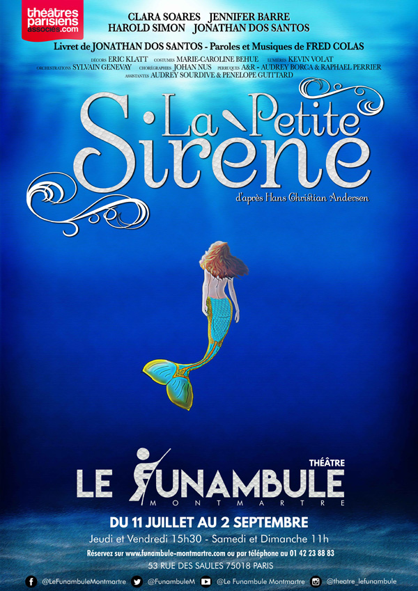 La Petite Sirène - Affiche