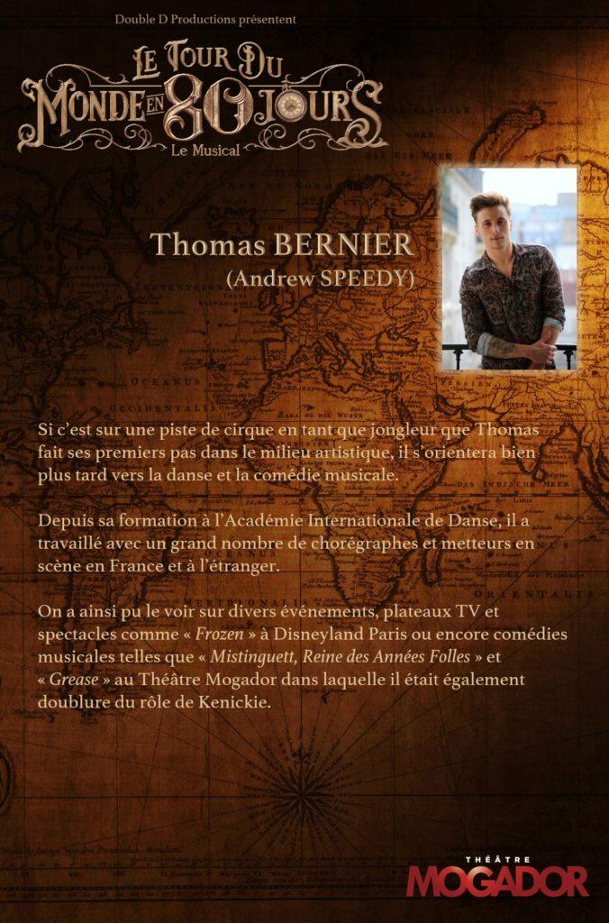 Thomas Bernier - Tour du Monde en 80 Jours