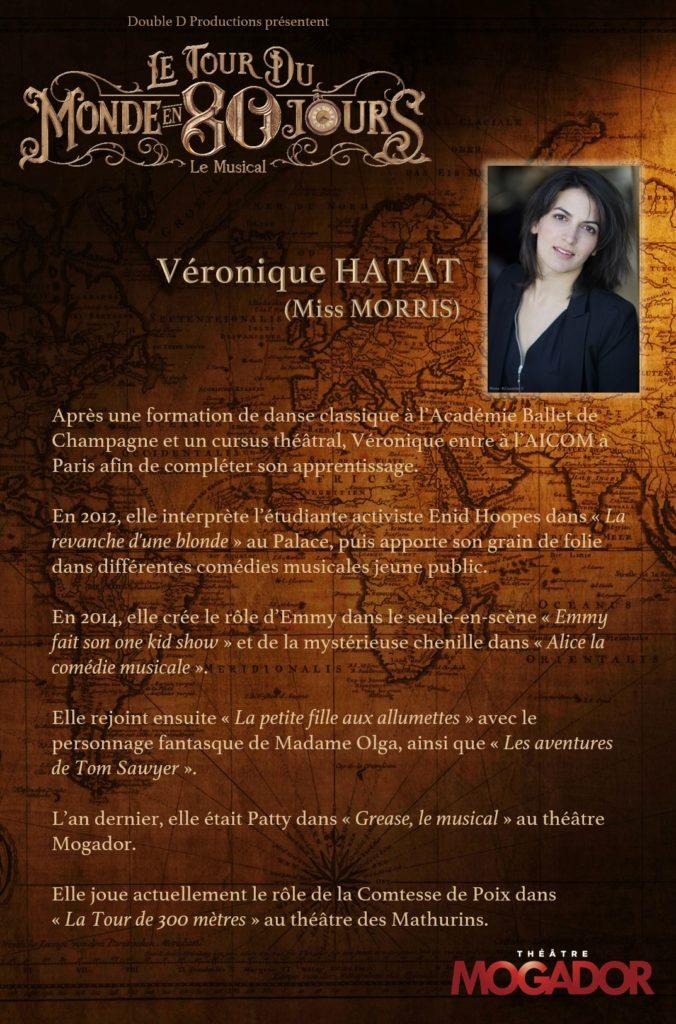 Véronique Hatat - Tour du Monde en 80 Jours