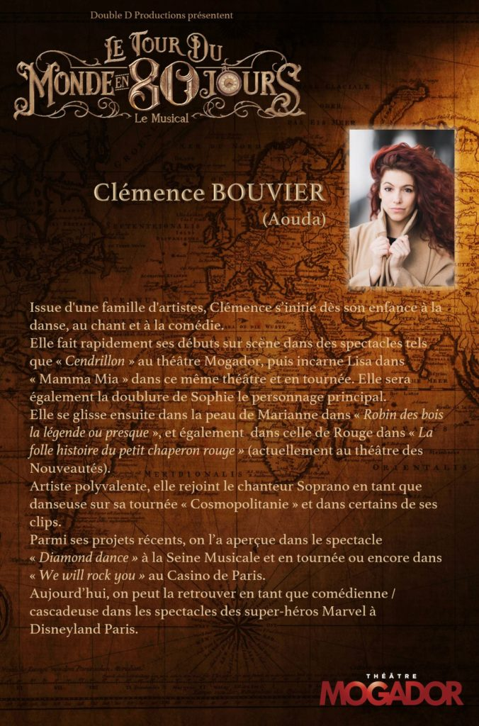 Clémence Bouvier - Tour du Monde en 80 Jours