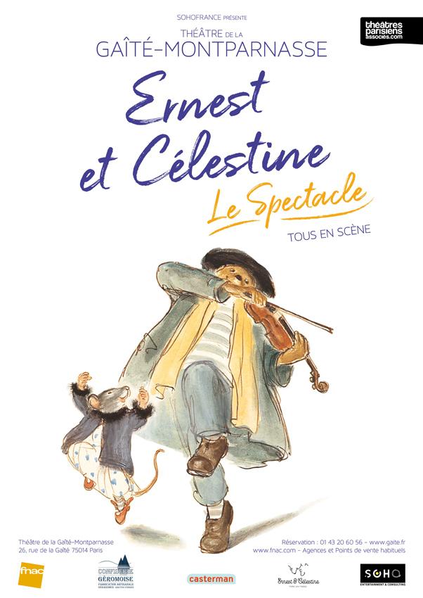 Ernest et Célestine - Tous en Scène
