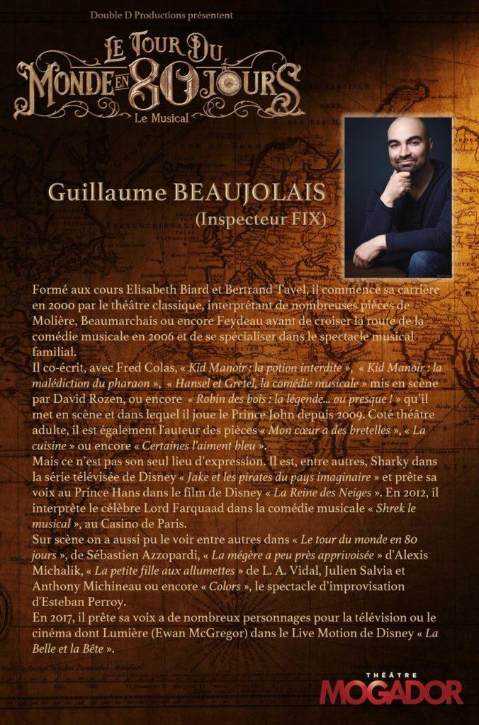 Guillaume Beaujolais - Tour du Monde en 80 Jours