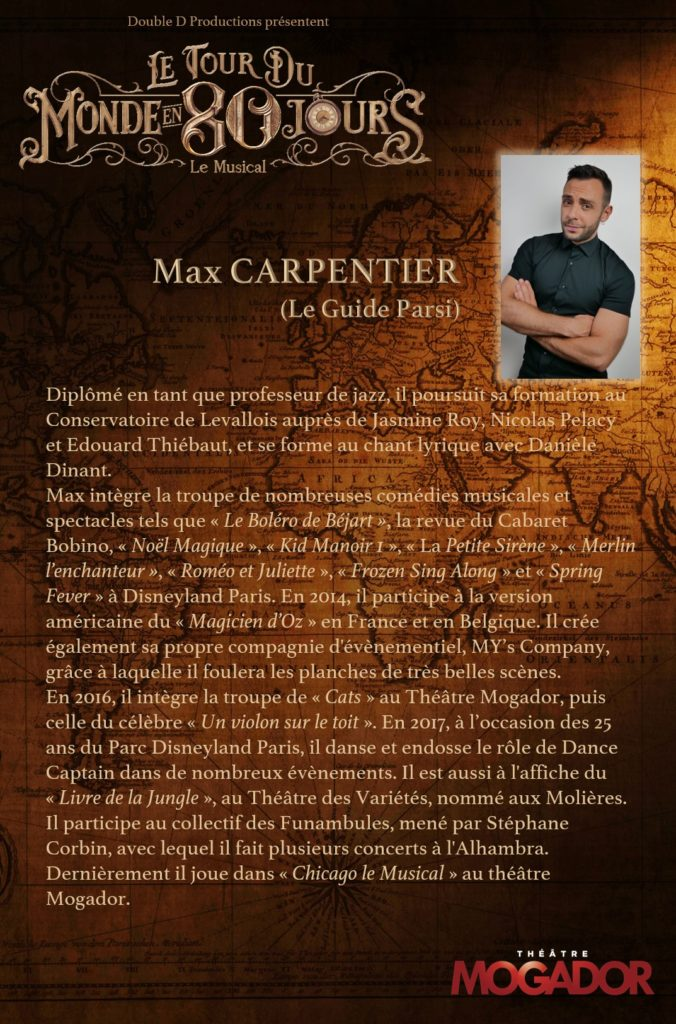 Max Carpentier - Tour du Monde en 80 Jours