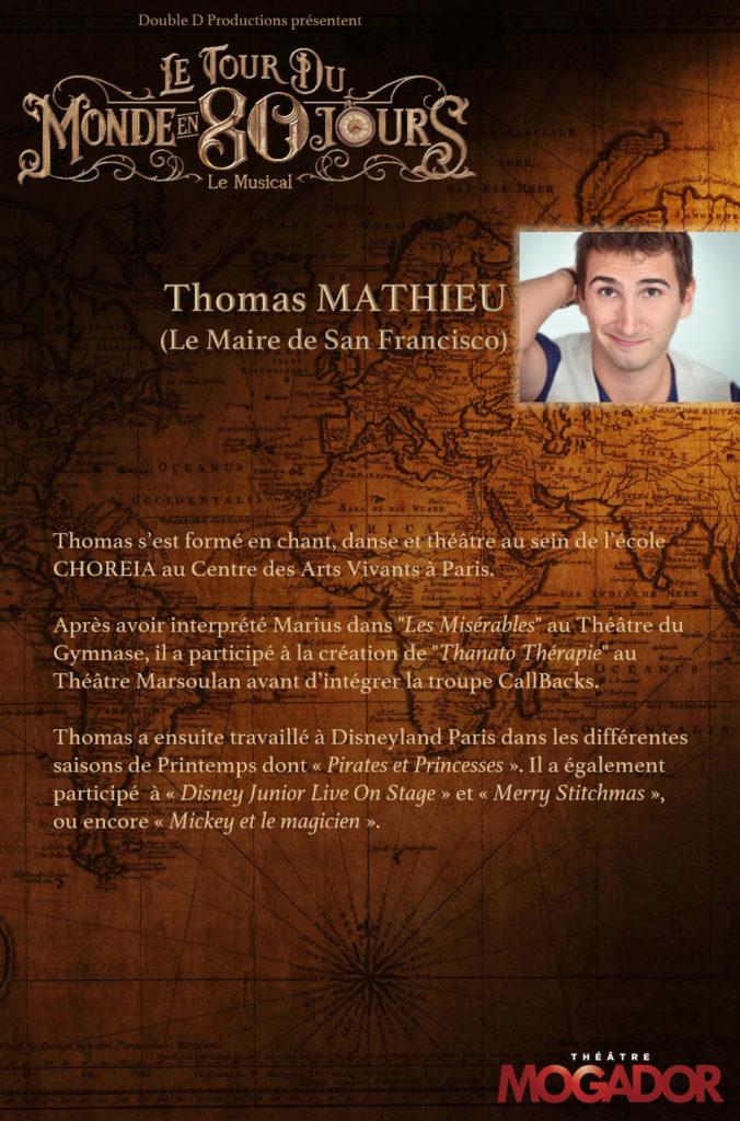 Thomas Mathieu - Tour du Monde en 80 Jours