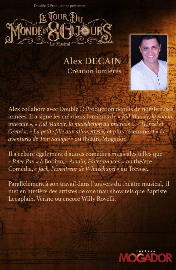 Alex DECAIN - Tour du Monde en 80 Jours