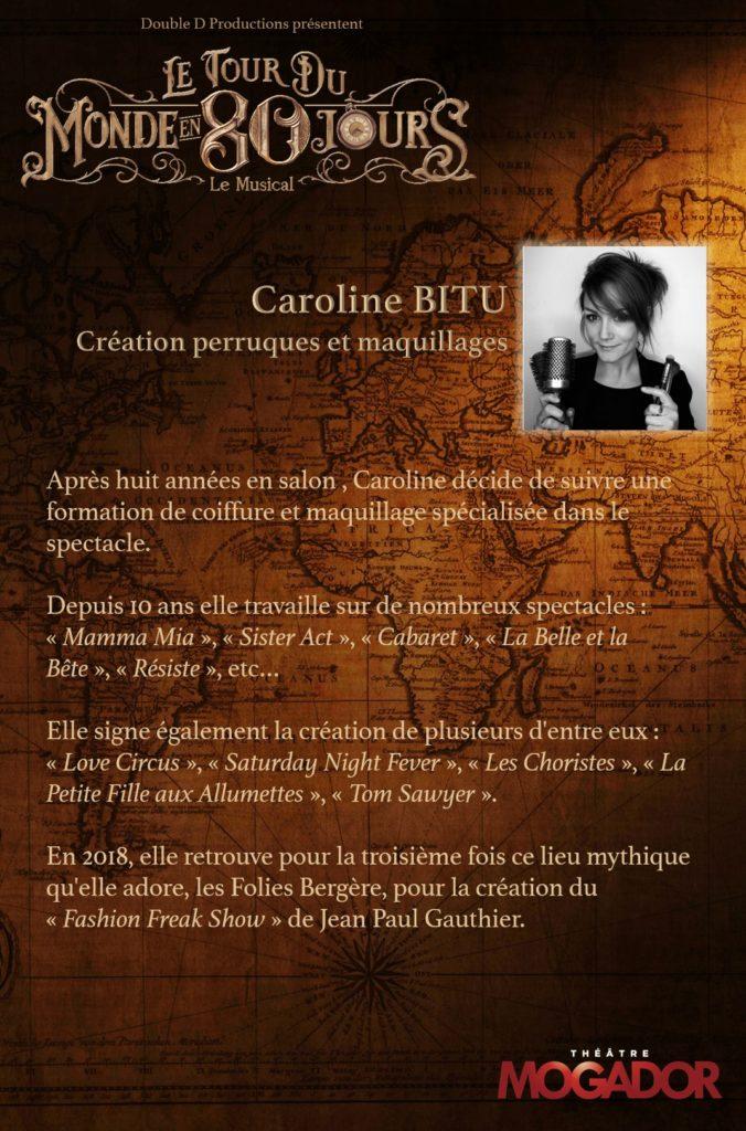 Caroline BITU - Tour du Monde en 80 Jours
