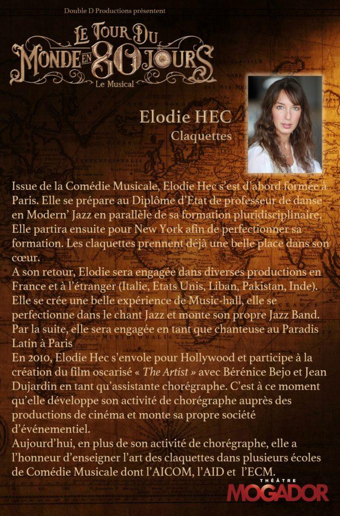 Elodie HEC - Tour du Monde en 80 Jours