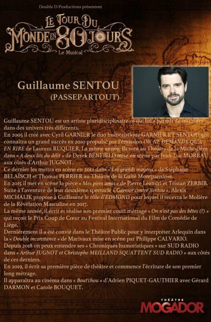 Guillaume Sentou - Tour du Monde en 80 Jours
