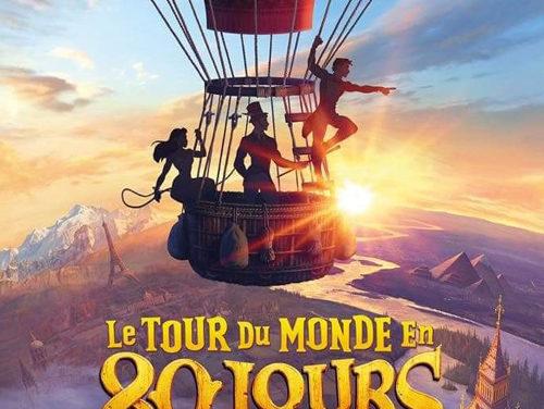 Sortie de l'Album Digital Le Tour du Monde en 80 Jours