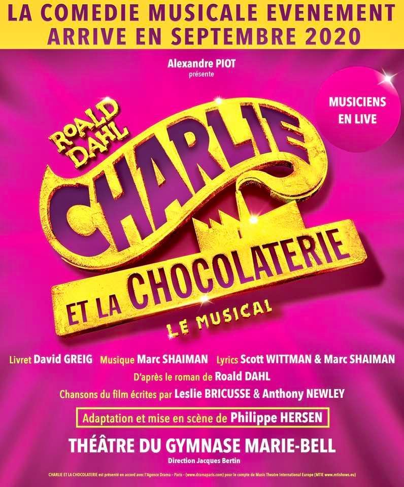 Charlie et la chocolaterie Affiche BD