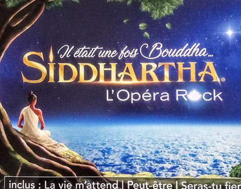 Album physique Siddhartha l'Opéra Rock disponible !