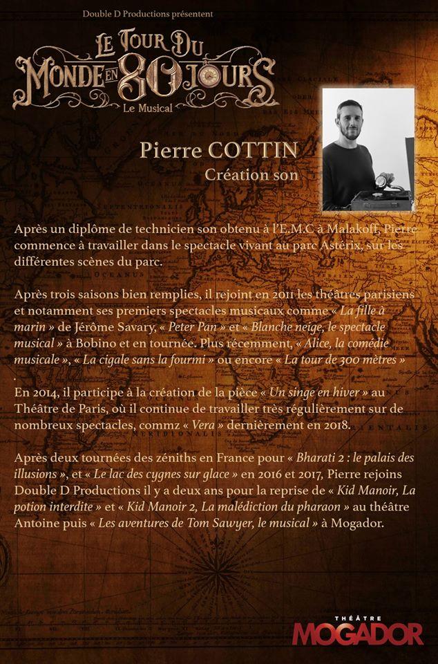Pierre COTTIN - Tour du Monde en 80 Jours