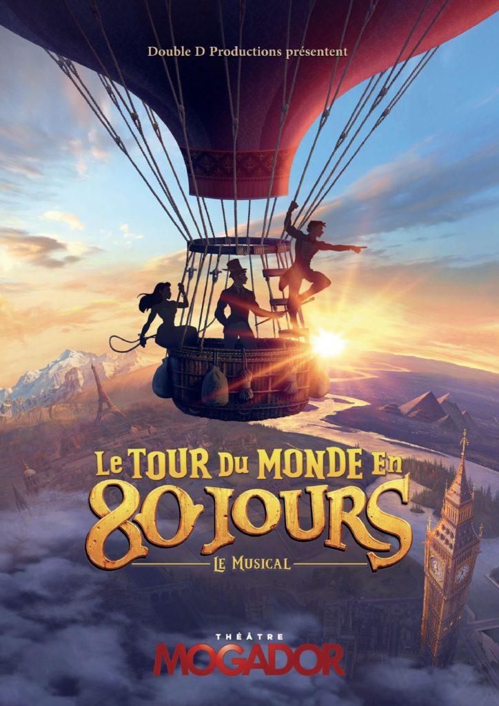 Tour du Monde en 80 Jours - Affiche Mogador