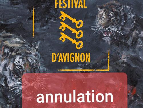 Avignon 2020 – Annulation