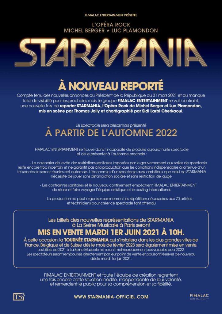Starmania - Report 2022