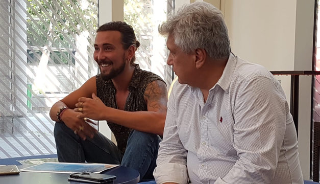 Siddhartha L'Opéra Rock : Inca reçoit ToïToïToï