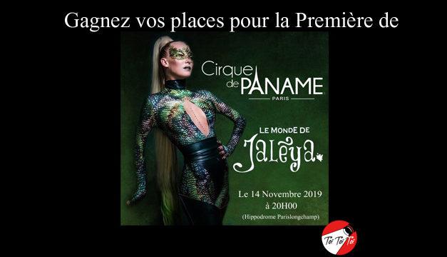 Concours Facebook – Gagnez 4×2 Places pour la Première de Cirque de Paname