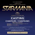 Auditions pour Starmania, l'Opéra Rock