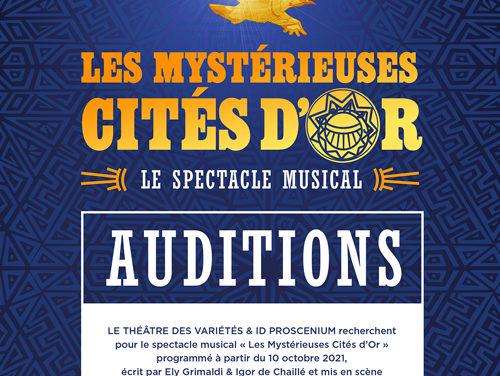 Casting – Les Mystérieuses Cités d'Or